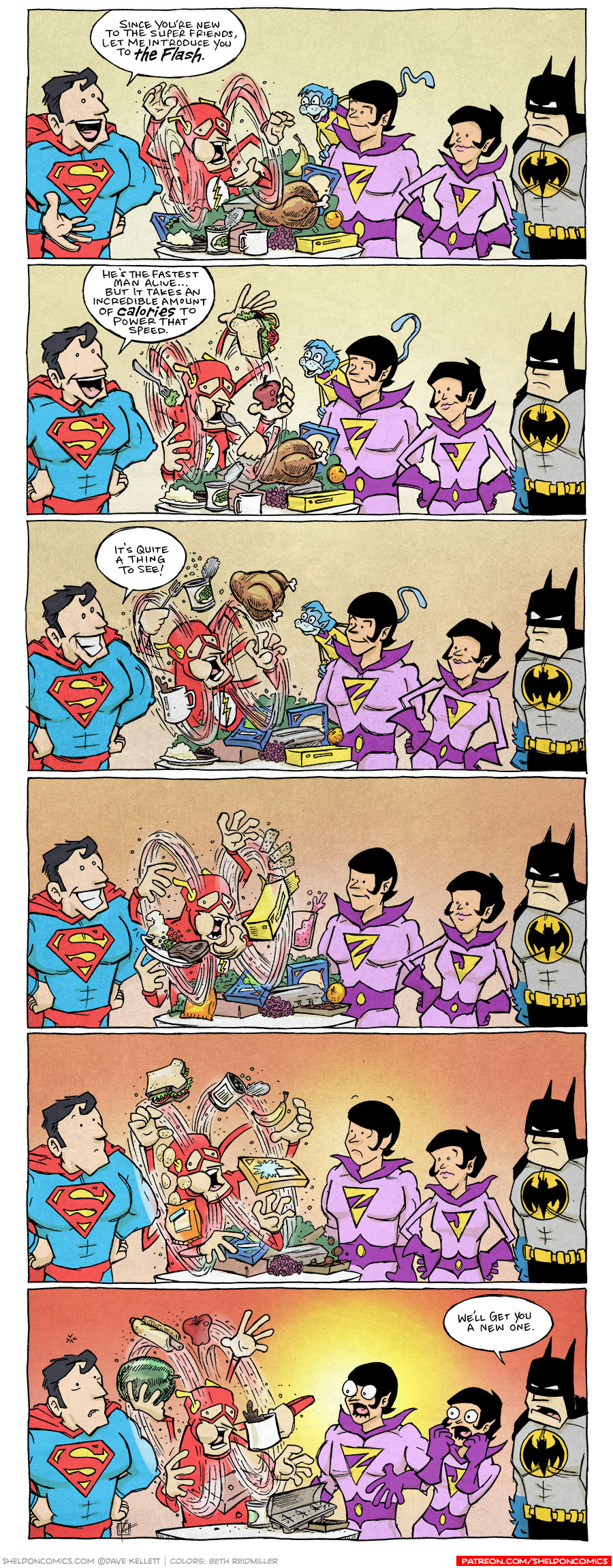 strip for October / 13 / 2020 - Super Friends!