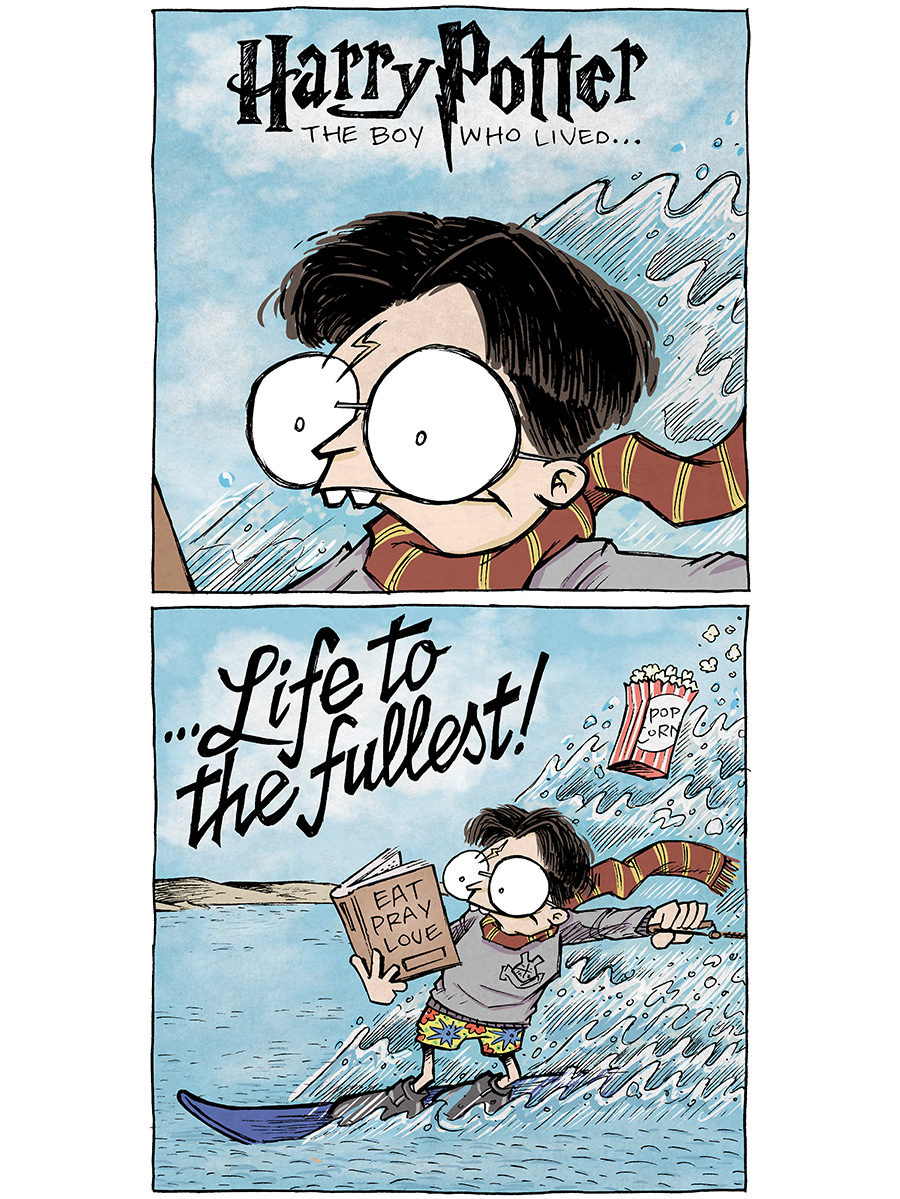 strip for October / 19 / 2020 - Harry Potter: The Boy Who Lived...