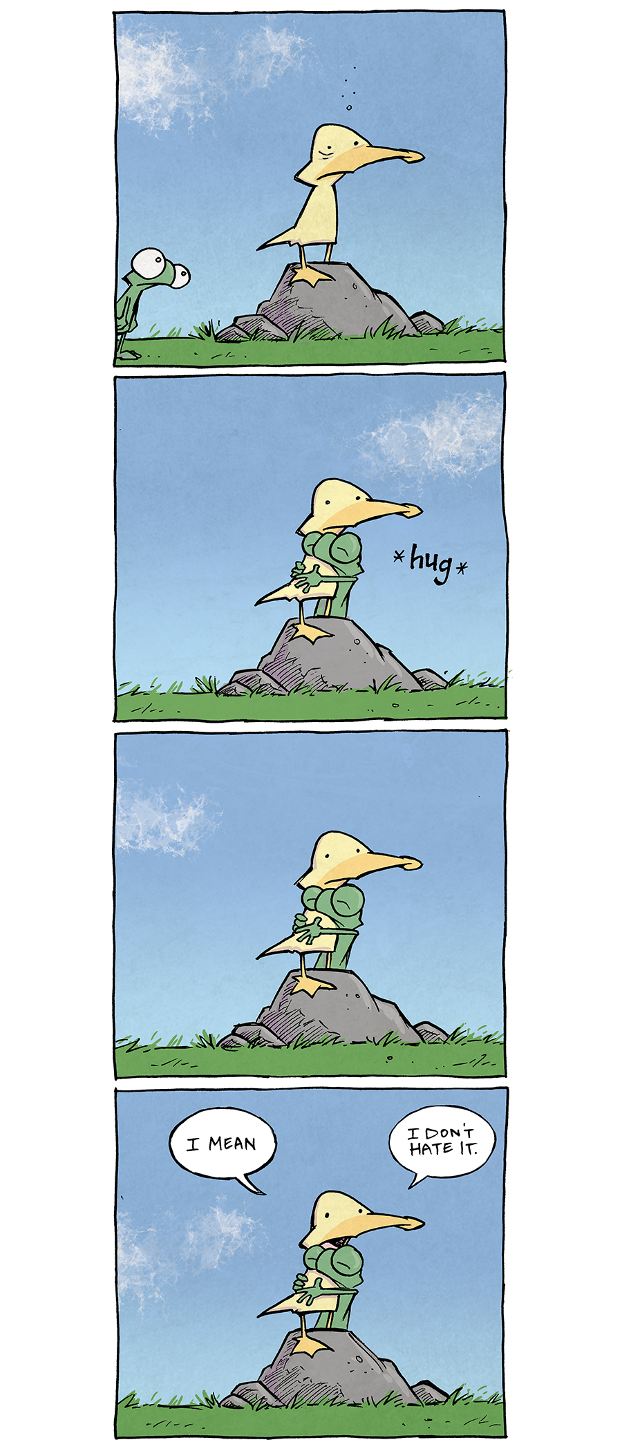 strip for October / 29 / 2020 - Reply to Your Previous Announcement