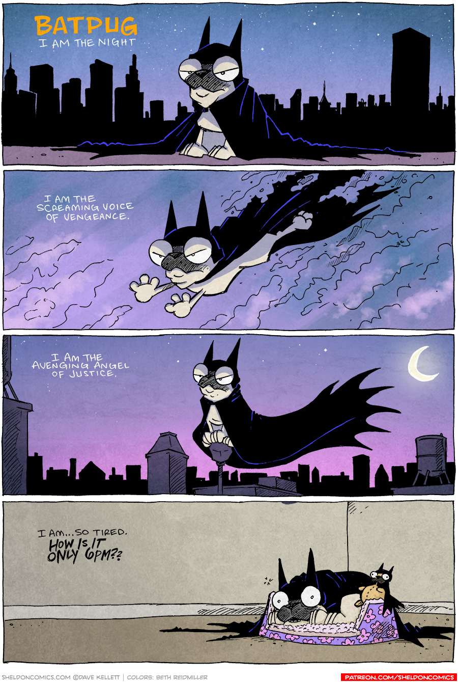 strip for November / 17 / 2020 - BatPug Returns!