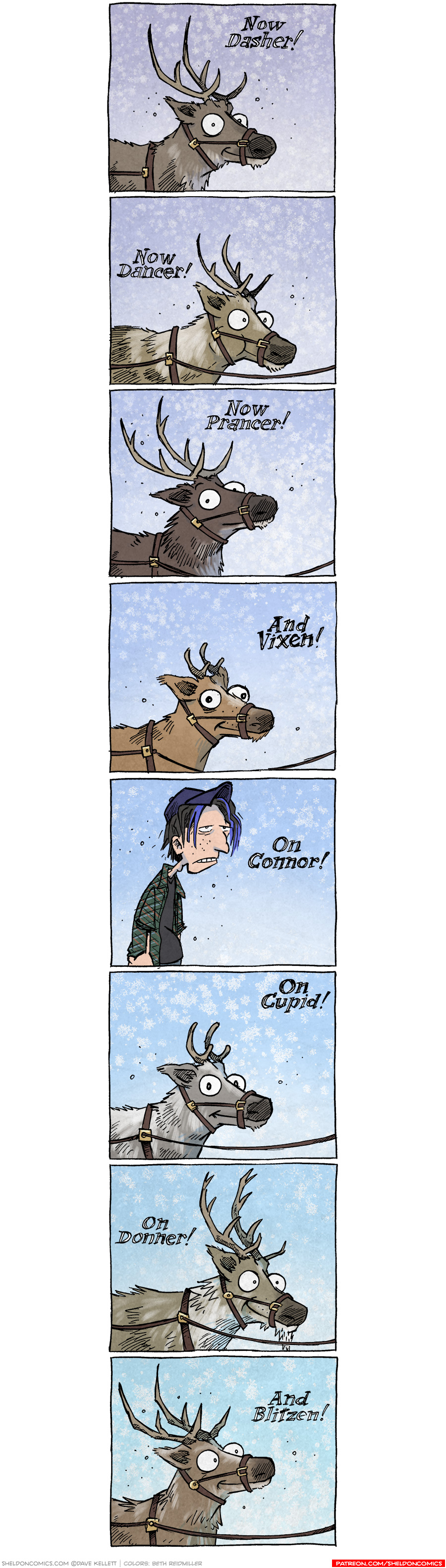 strip for December / 18 / 2020 - 8 Teen-y Reindeer
