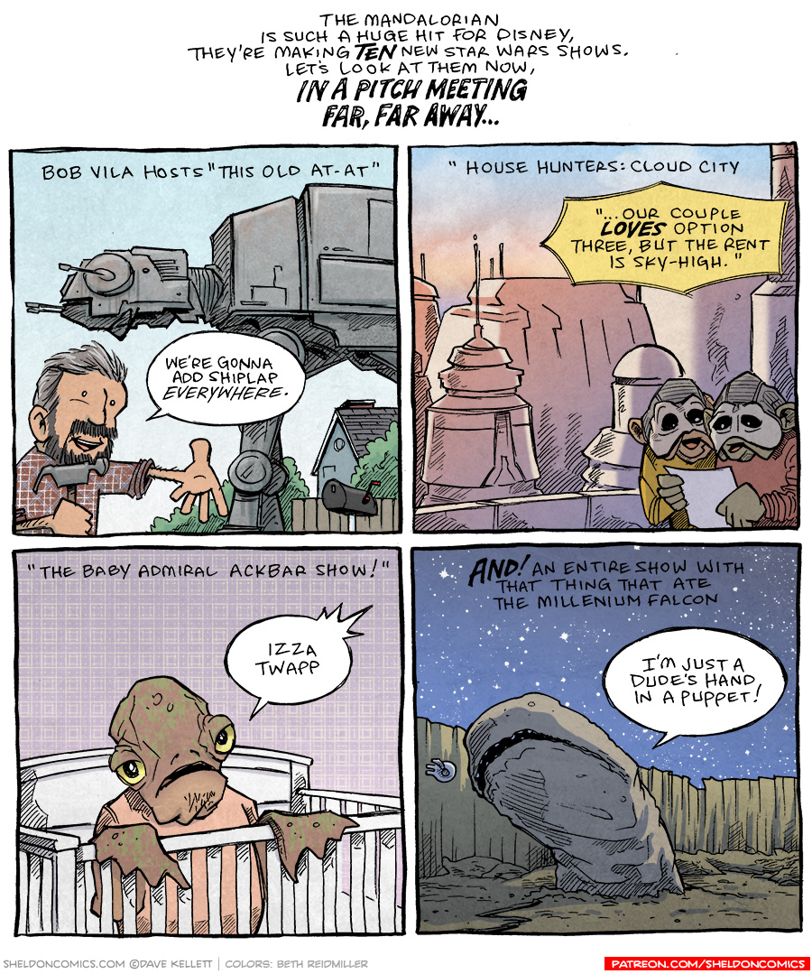 strip for January / 8 / 2021 - Star Wars Stories Pt 2