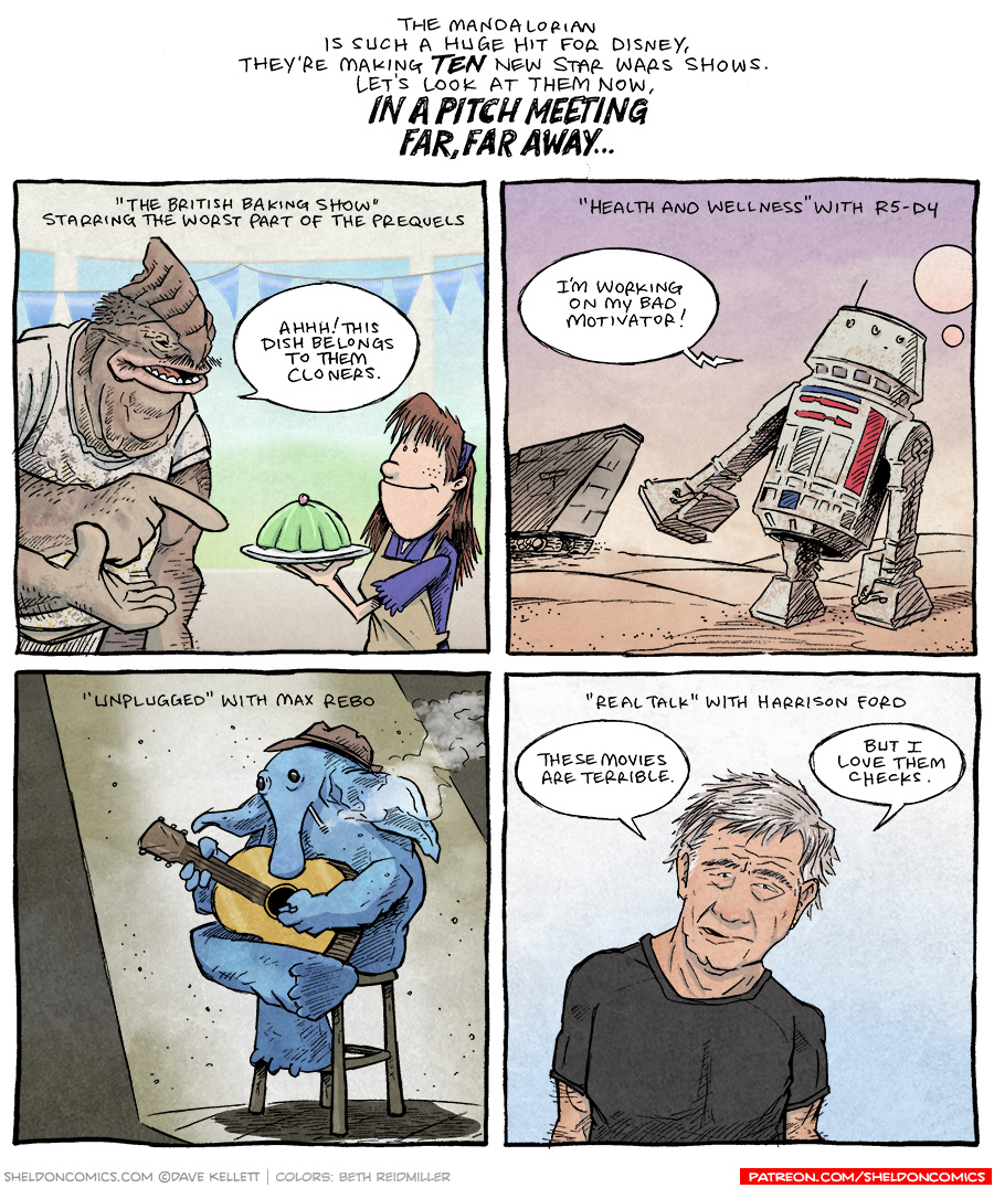 strip for January / 18 / 2021 - Star Wars Stories Pt 3