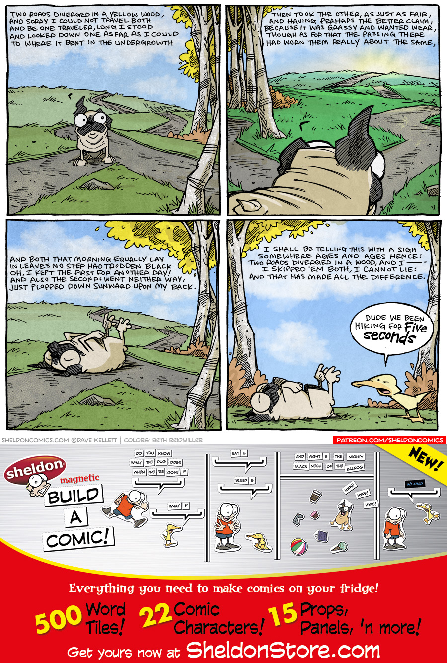strip for March / 3 / 2021 - Two Roads...