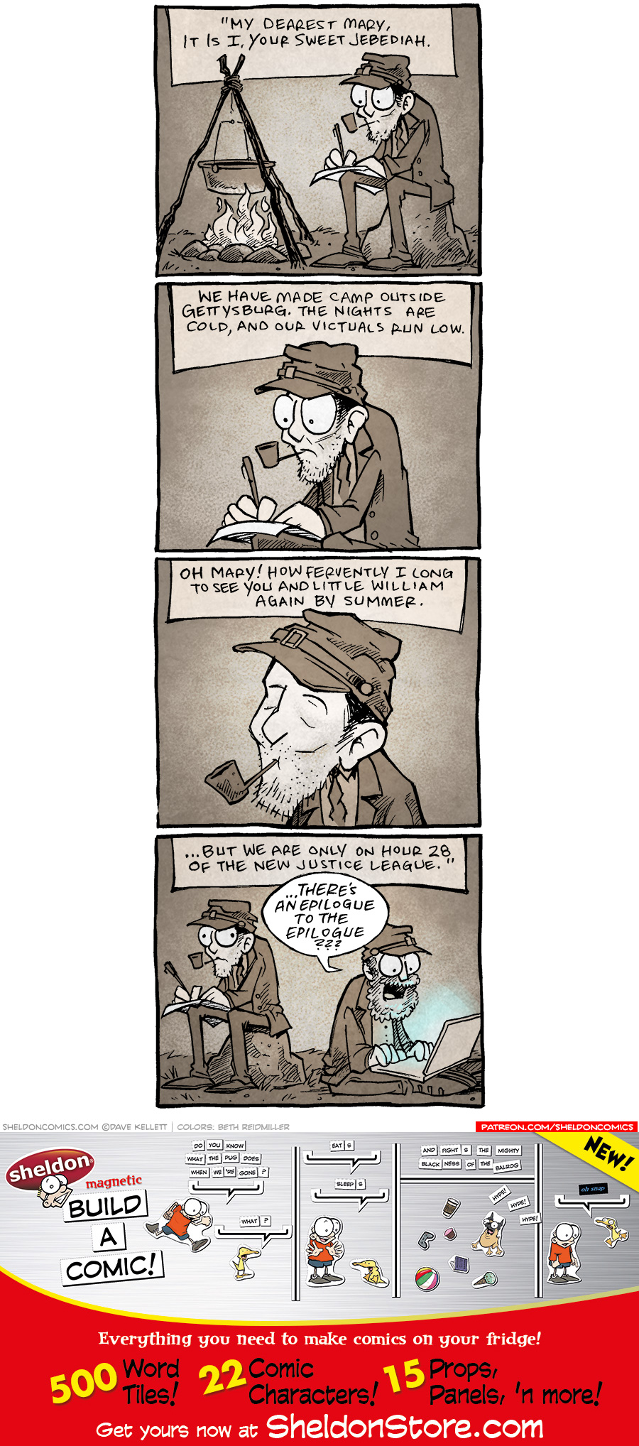 strip for March / 22 / 2021 - My Dearest Mary...
