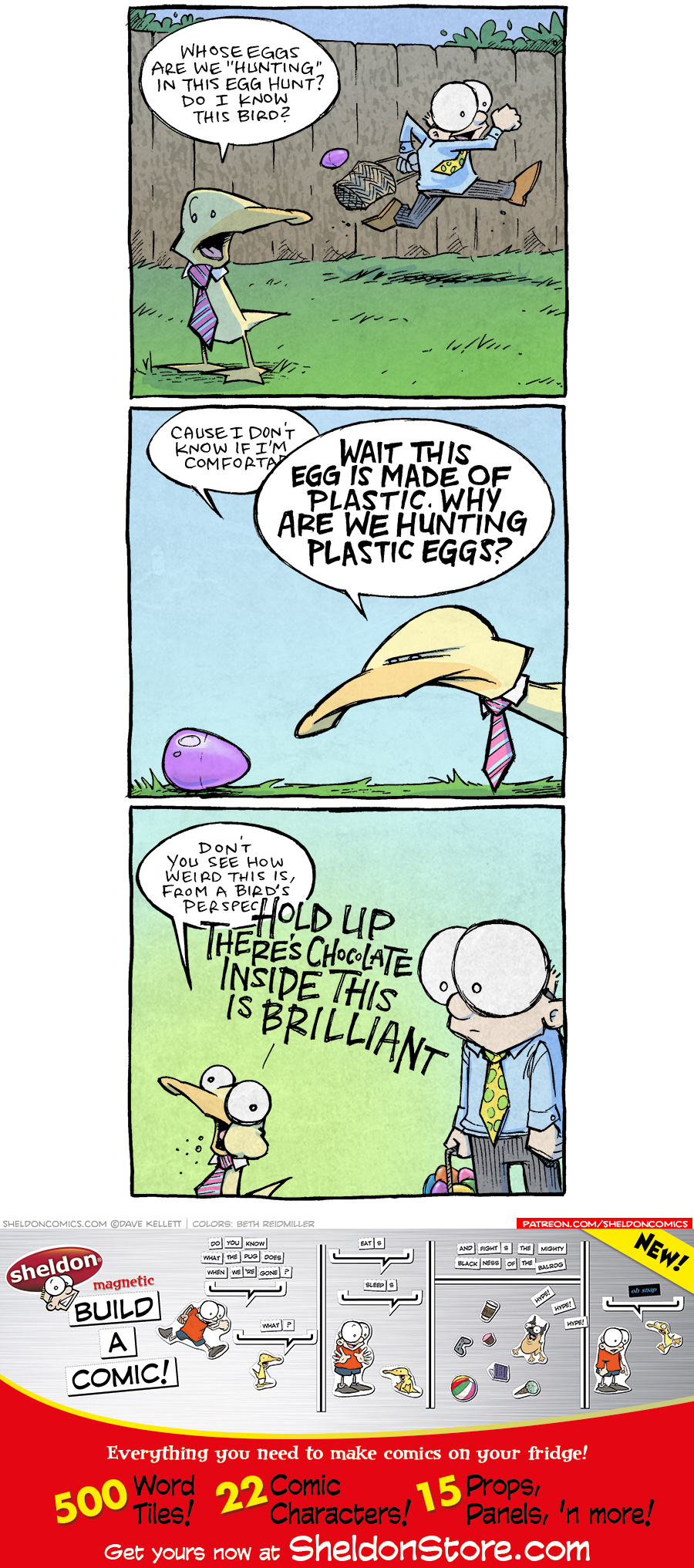 strip for April / 5 / 2021 - Easter Egg Hunt