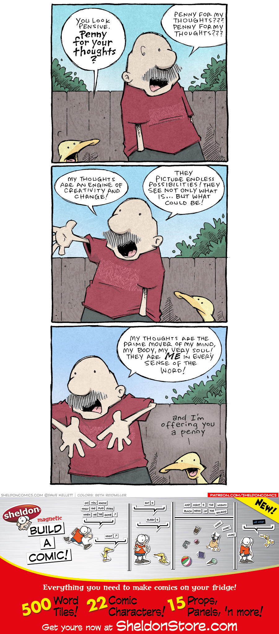 strip for April / 30 / 2021 - Penny for Your Thoughts
