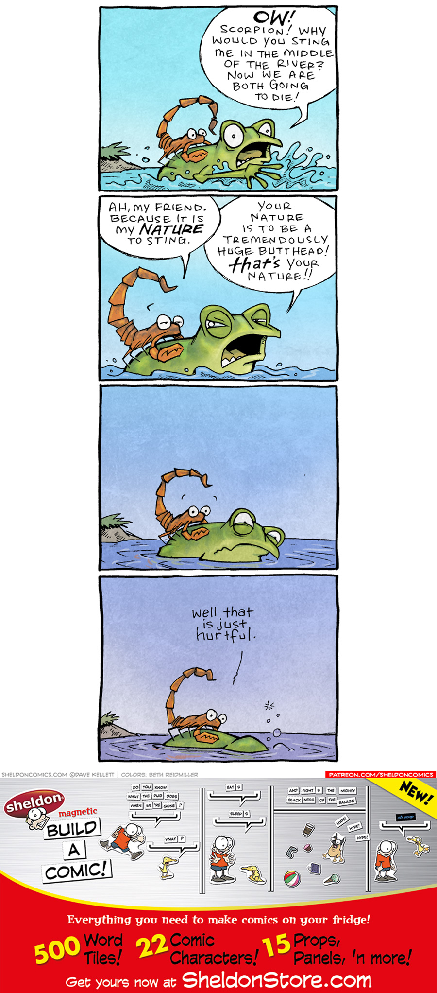 strip for May / 19 / 2021 - The Scorpion and the Frog