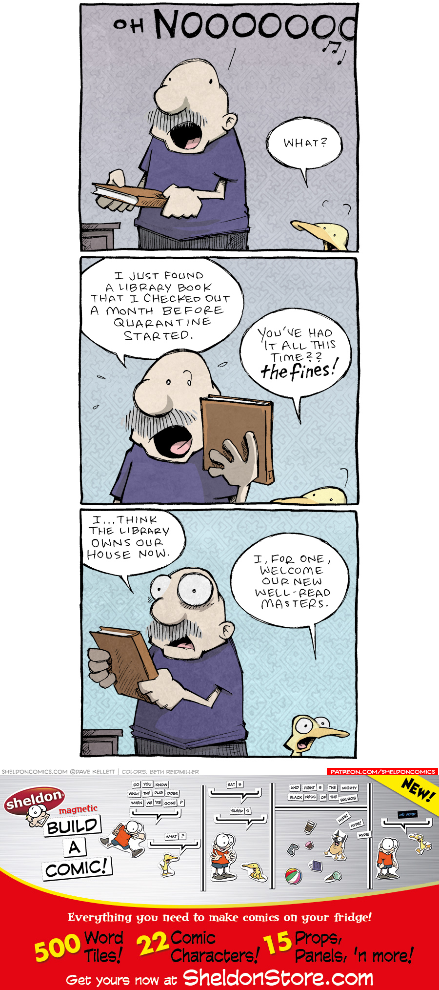 strip for May / 26 / 2021 - Lost and Found