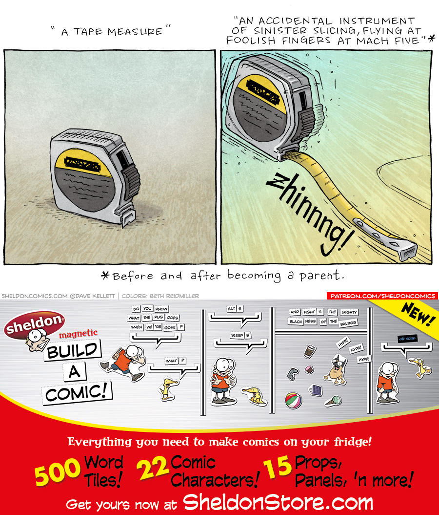 strip for June / 2 / 2021 - A Tape Measure
