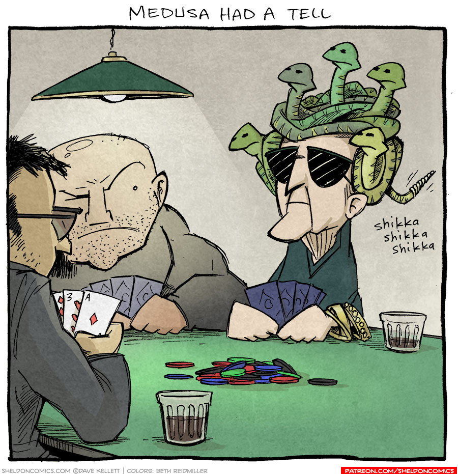 strip for July / 19 / 2021 - Medusa had a tell