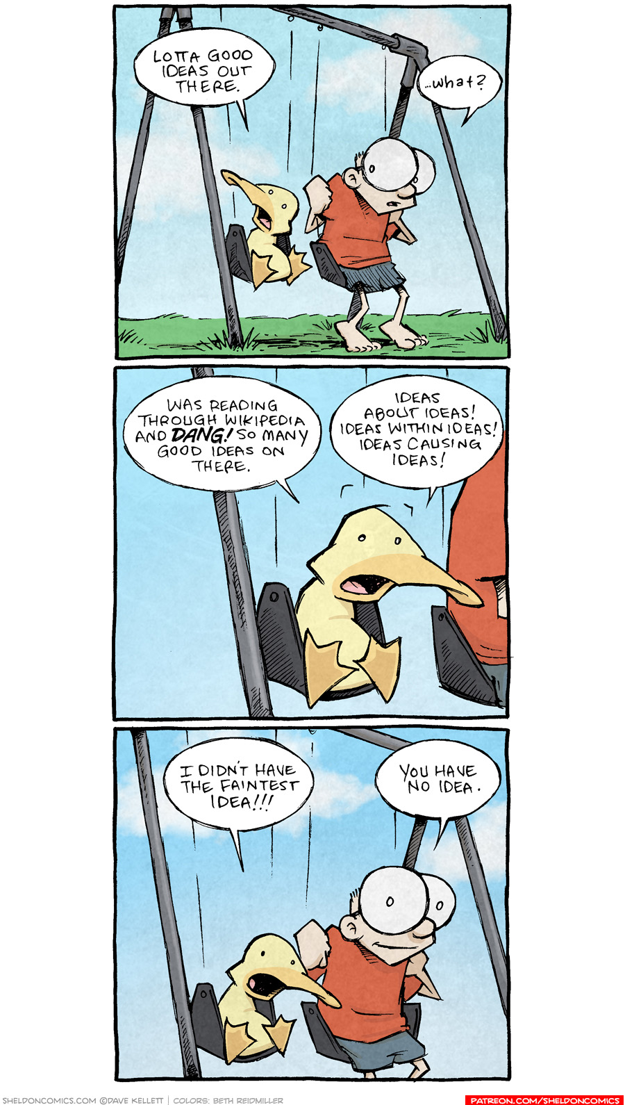 strip for July / 26 / 2021 - Ideas