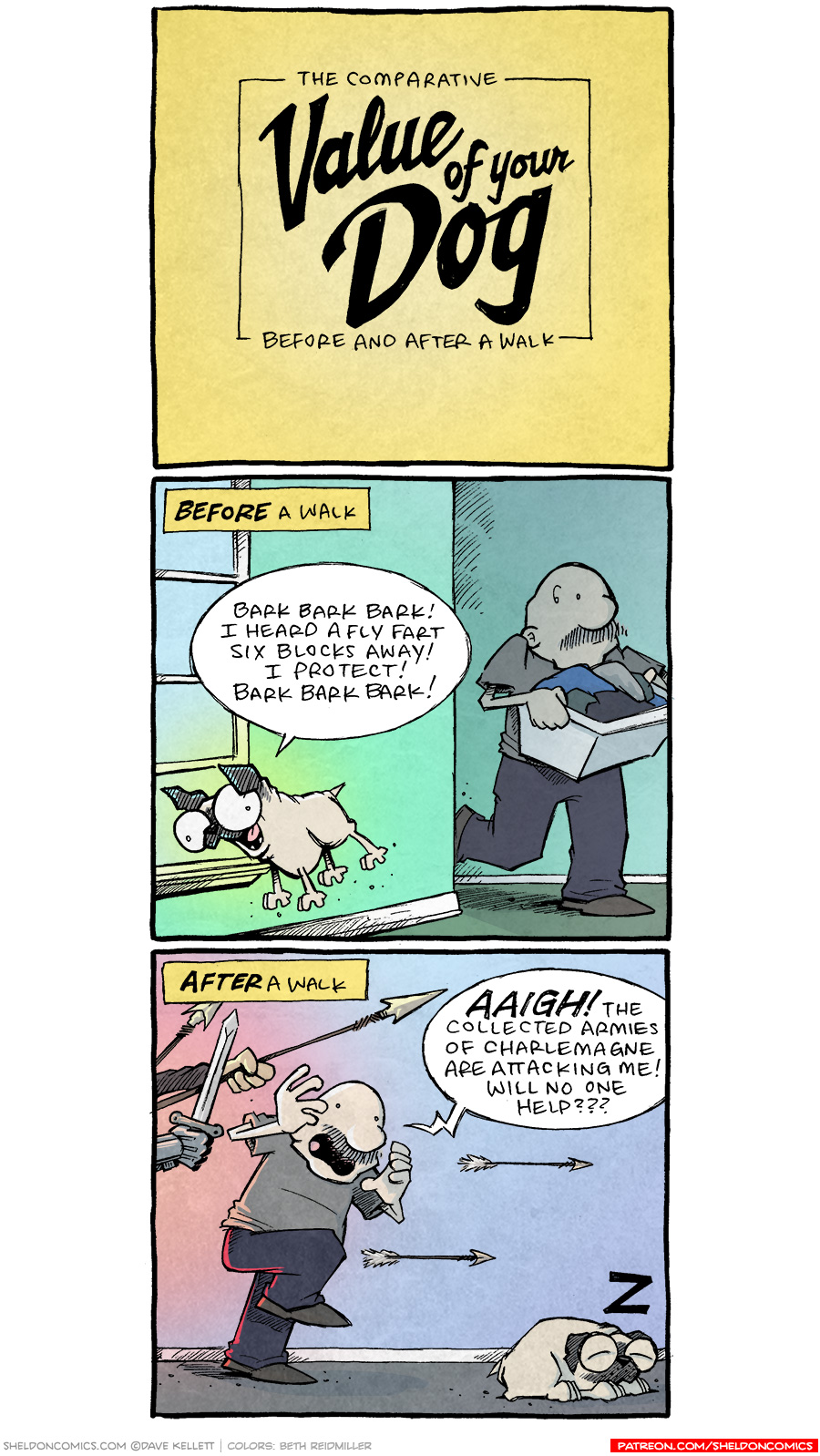 strip for July / 30 / 2021 - Value of a Dog