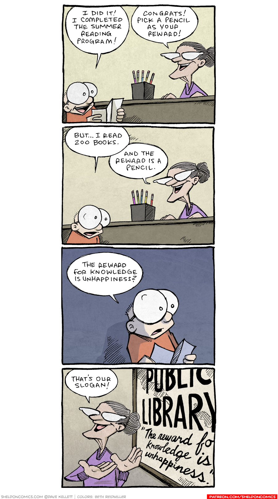 strip for August / 9 / 2021 - The reward for knowledge...