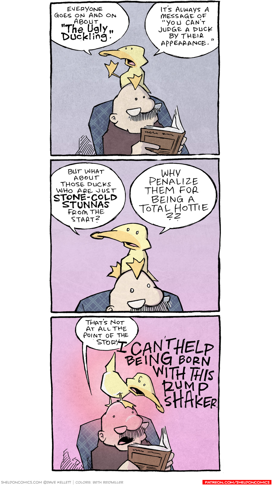 strip for August / 11 / 2021 - Ugly Duckling