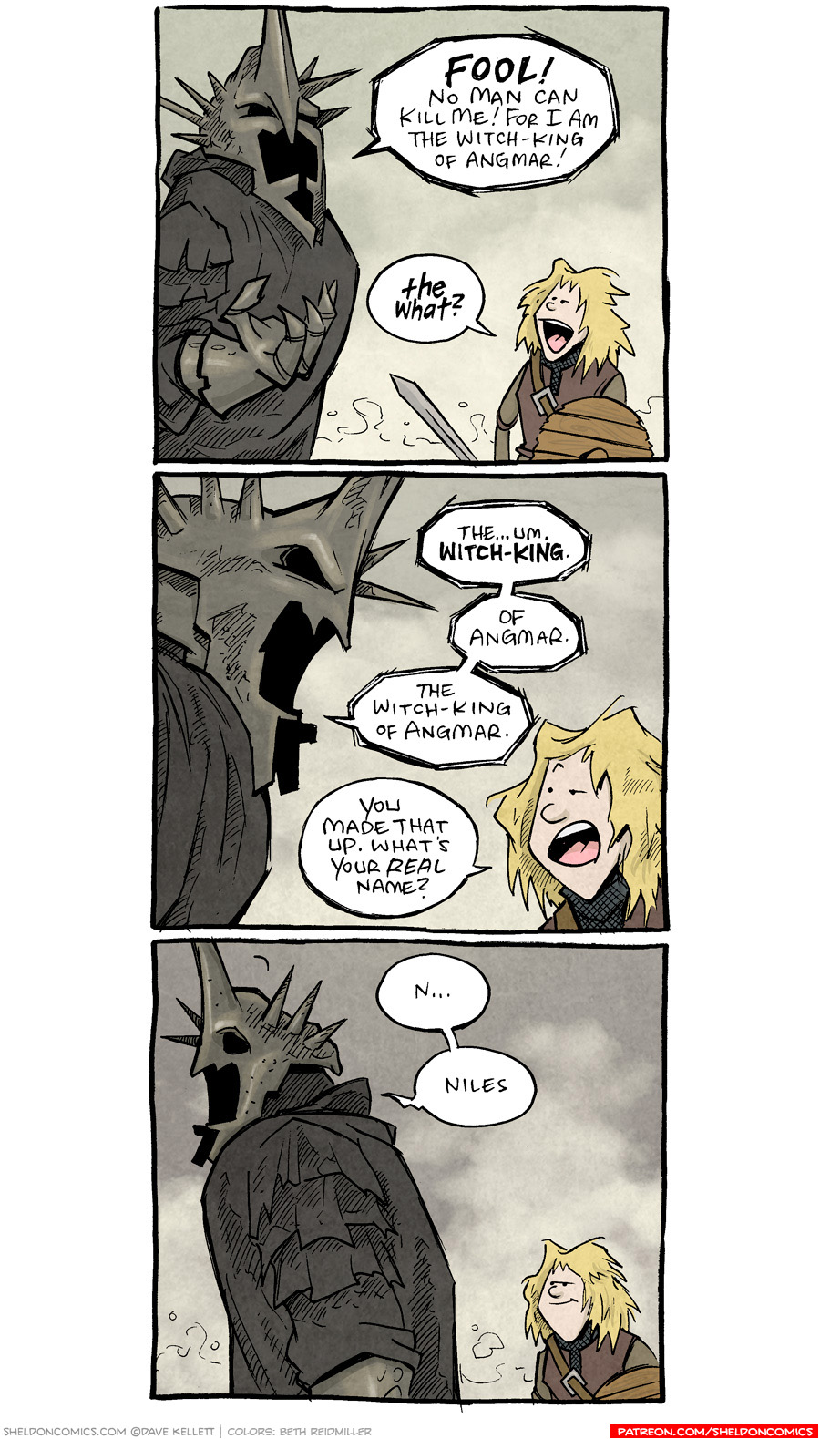 strip for September / 14 / 2021 - The Witch King