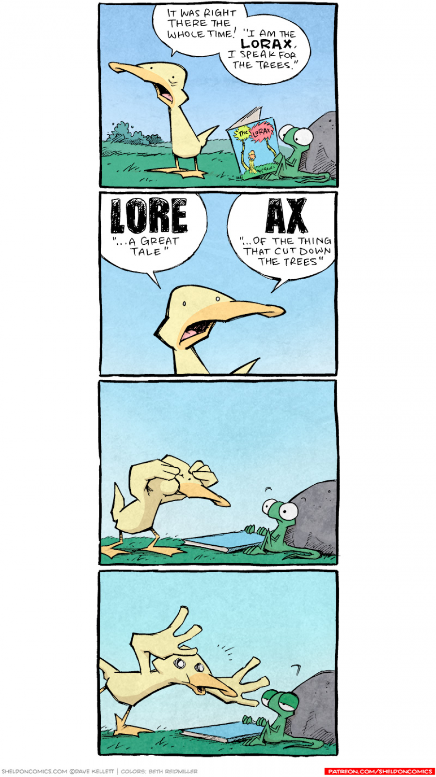 strip for September / 27 / 2021 - Lore-Ax