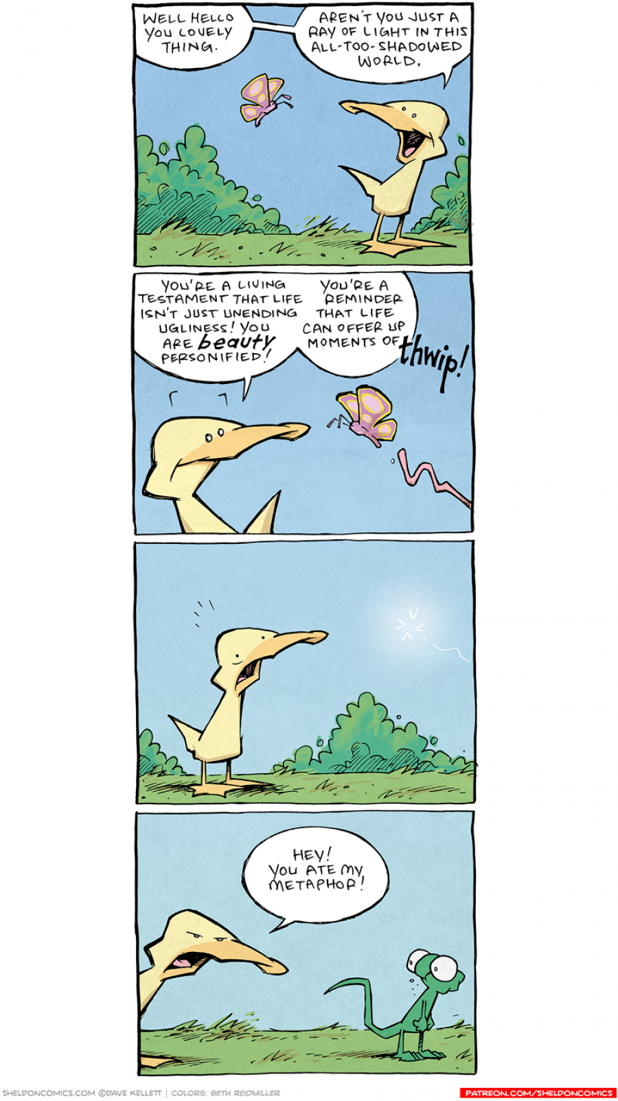 strip for October / 1 / 2021 - A Ray of Light in this All-Too-Shadowed World